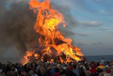 Beredskab.dk: Sikker afbrænding til Sankt Hans aften