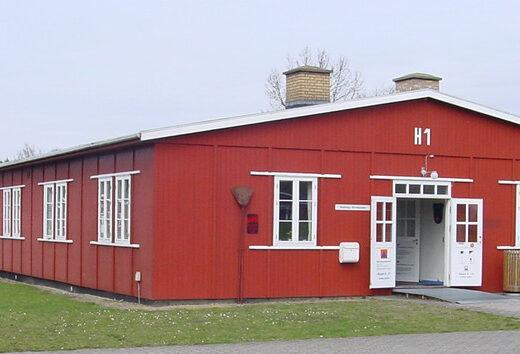 Barak H1 - Beredskabsforbundets udstillingsbarak i Frøslevlejren som fortæller redningsberedskabets historie