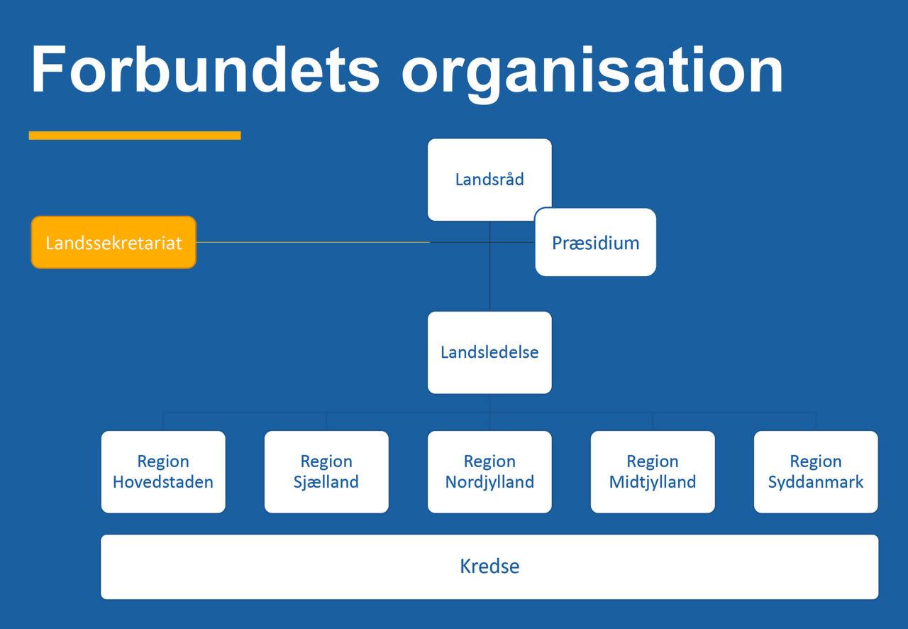 Beredskabsforbundets opbygning og organisation 2020