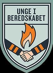 Logo for Unge i Beredskabet