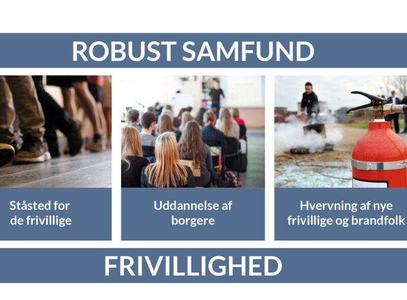 På en basis af frivillighed udfører Beredskabsforbundet tre kerneopgaver, som tilsammen er med til at sikre et robust samfund.
