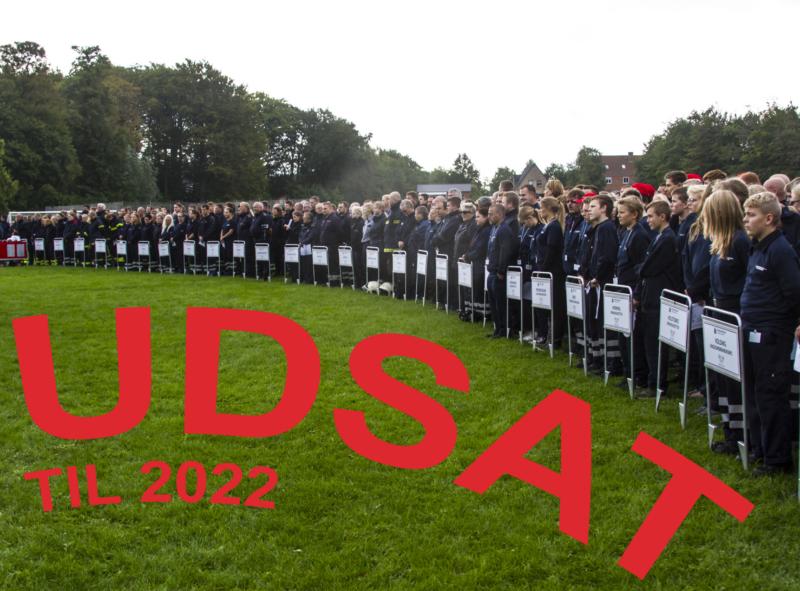 En situation fra åbningen af Beredskabsforbundets landsstævne i Gråsten i 2018. Det næste stævne i rækken, i 2020 i Albertslund, blev udsat et år på grund af frygt for corona-smitte. Og nu har det været nødvendigt at udskyde stævnet i endnu et år. (Foto: Bjørn Nielsen)