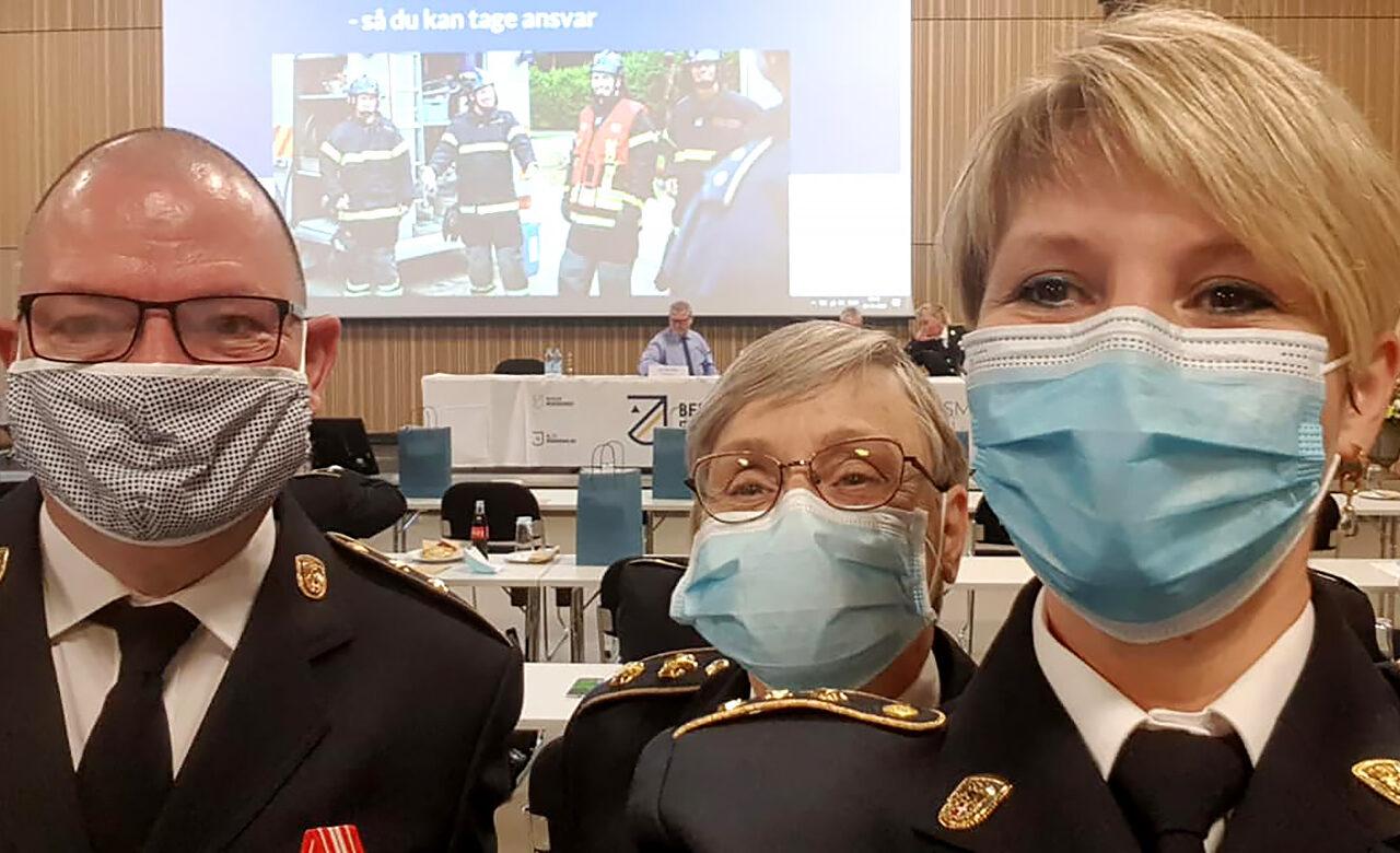 Peter B. Lange, Kirsten Nielsen og Kristine Grønbech Jensen